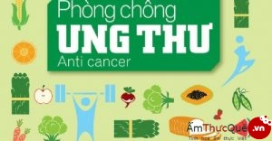nguyên tắc dinh dưỡng chống ung thư